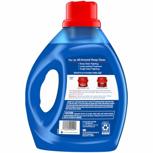 Persil ProClean Deep Clean Intense Fresh Liquid Laundry Detergent Perspective: back