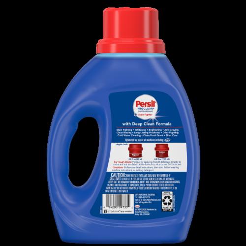 Persil ProClean Original Deep Clean Liquid Laundry Detergent Perspective: back