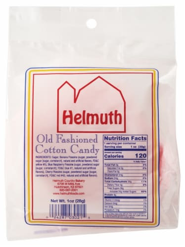 Helmuth Old Fashioned Cotton Candy Perspective: back