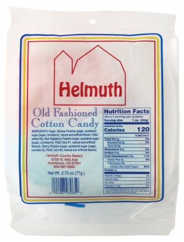 Helmuth Old Fashioned Assorted Cotton Candy Perspective: back