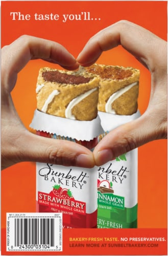 Sunbelt Bakery Fudge Dipped Coconut Chewy Granola Bars Perspective: back