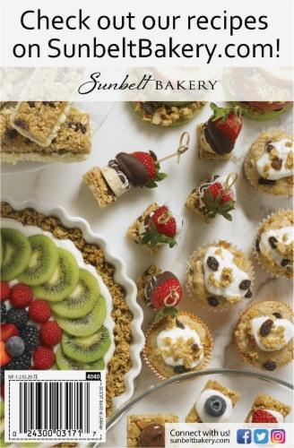 Sunbelt Bakery Blueberry Fruit & Grain Bars Perspective: back