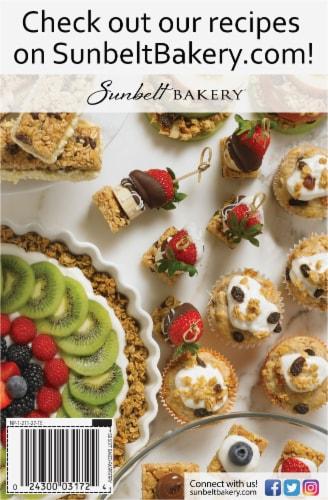 Sunbelt Bakery Raspberry Fruit & Grain Bars Perspective: back