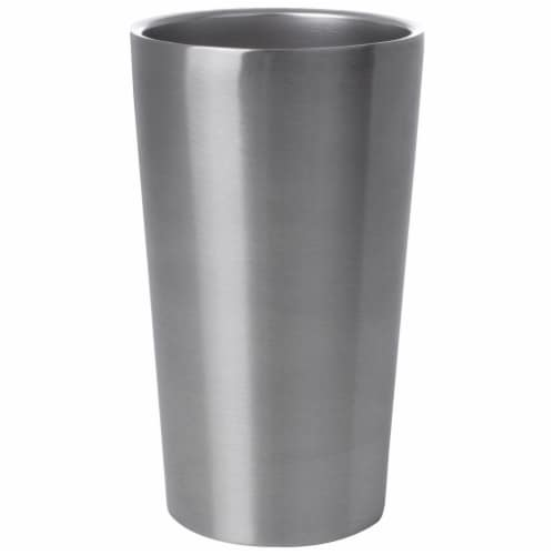Maxam Stainless-Steel 4-piece Double Wall 13 oz. Tumbler Set Perspective: back