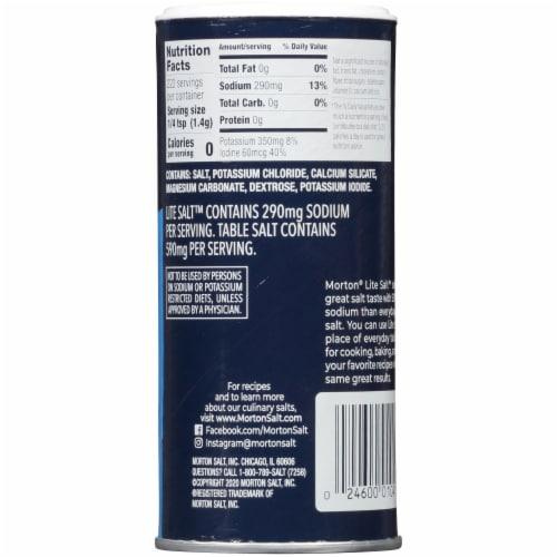 Morton® Lite Salt Perspective: back