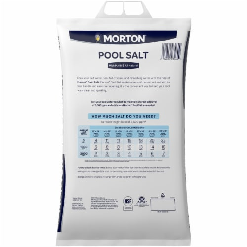 Morton Pool Salt Perspective: back