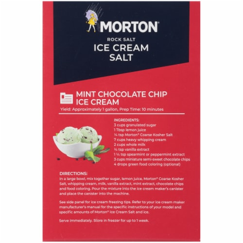 Morton Ice Cream Salt Perspective: back