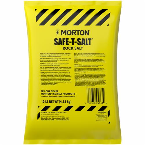 Morton Safe-T-Salt Rock Salt Perspective: back