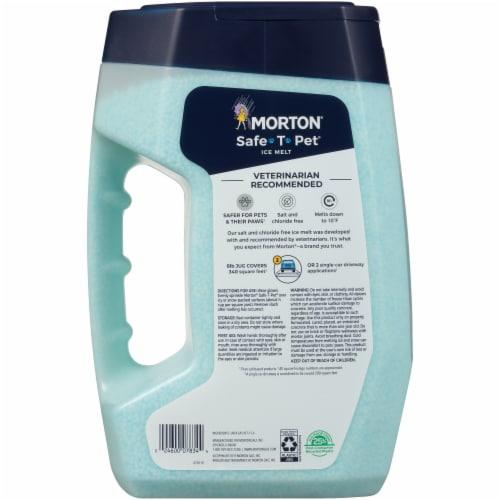Morton® Safe-T-Pet® Ice Melt Perspective: back
