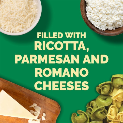 Buitoni Mixed Cheese Tortellini Pasta Perspective: back