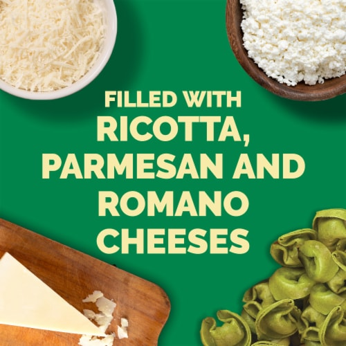 Buitoni Spinach & Cheese Tortellini Perspective: back