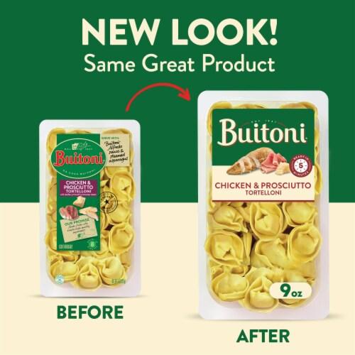 Buitoni Refrigerated Chicken & Prosciutto Tortelloni Pasta Perspective: back