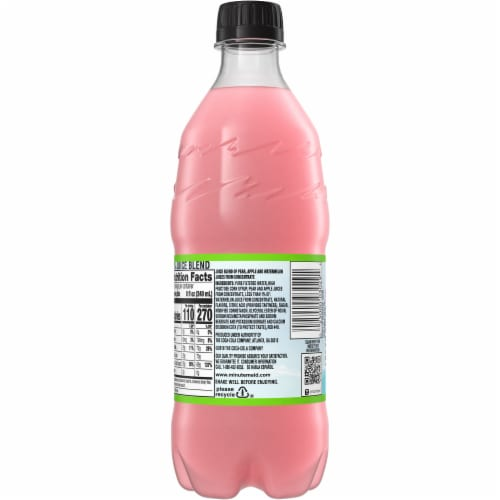 Minute Maid Watermelon Punch Fruit Juice Drink Perspective: back