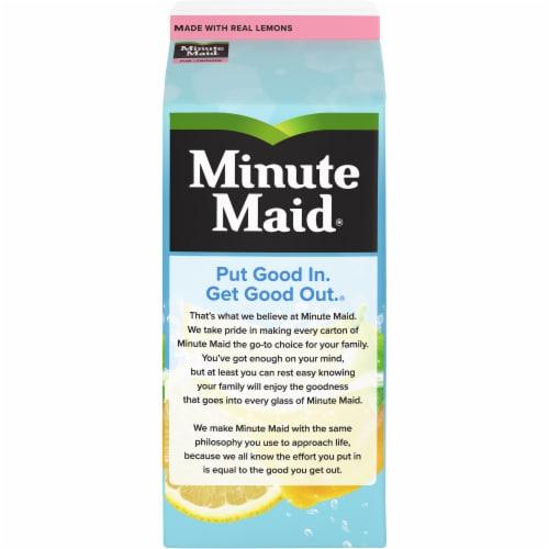 Minute Maid Pink Lemonade Juice Drink Perspective: back