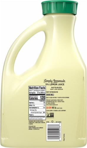 Simply Lemonade Juice Drink Perspective: back
