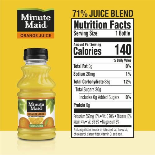 Minute Maid 100% Orange Juice Perspective: back