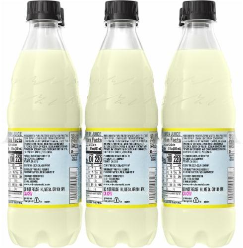 Minute Maid Lemonade Fruit Juice Drink Perspective: back