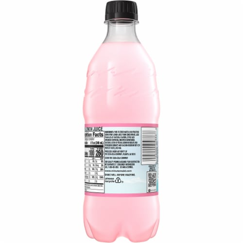 Minute Maid Pink Lemonade Fruit Juice Drink Perspective: back