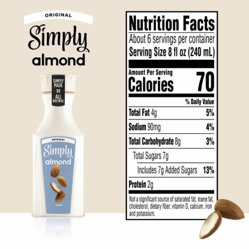 Simply Original Almond Milk Perspective: back