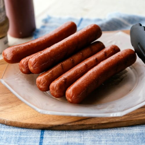 Applegate The Great Organic Uncured Beef Hot Dogs Perspective: back