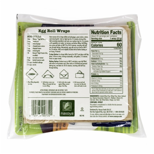 Fry S Food Stores Nasoya Vegan Egg Roll Wraps 1 Lb