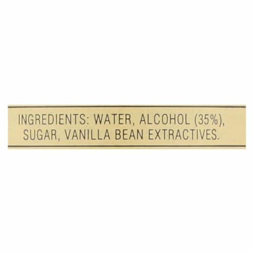 Nielsen-Massey Pure Vanilla Extract - Madagascar Bourbon - 8 oz - Pack of 3 Perspective: back