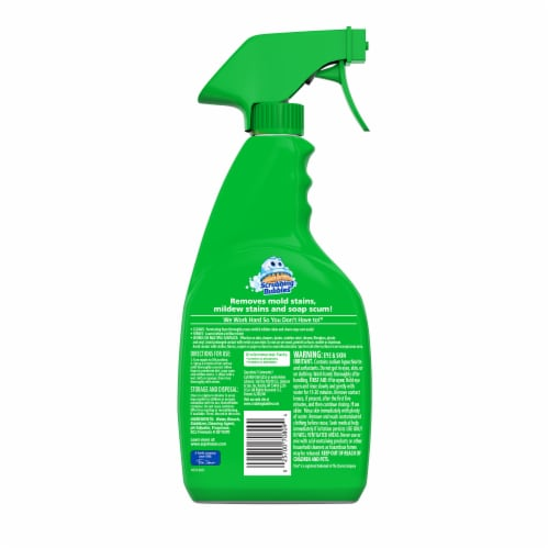 Scrubbing Bubbles Foaming Bleach Bathroom Cleaner Perspective: back