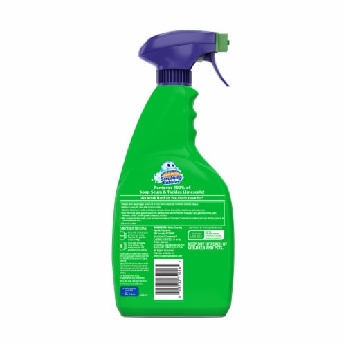 Scrubbing Bubbles Mega Shower Foamer Rainshower Scent Bathroom Cleaner Perspective: back
