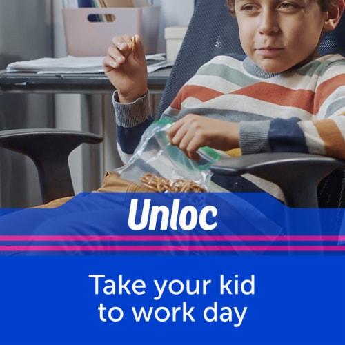 Ziploc Snack Bags Perspective: back