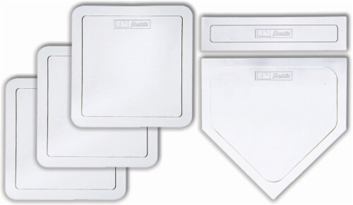 Franklin® MLB® Throw Down Rubber Base Set Perspective: back