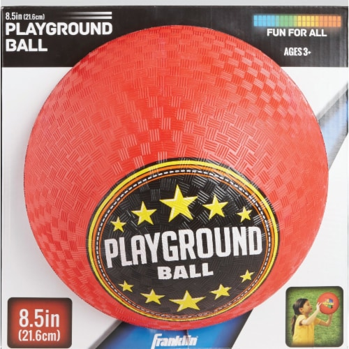 Franklin 8-1/2 In. Dia. Playground Ball 6325 Perspective: back
