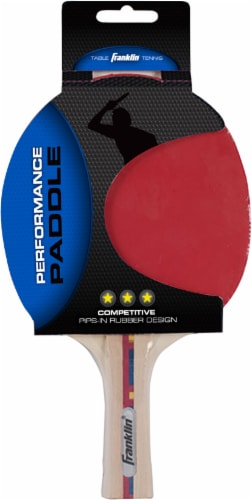 Franklin Performance Silver Series Table Tennis Paddle Perspective: back