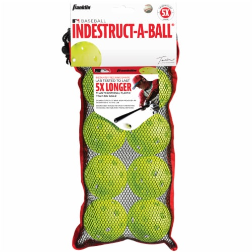 Franklin Indestruct-A-Ball Set - Yellow Perspective: back