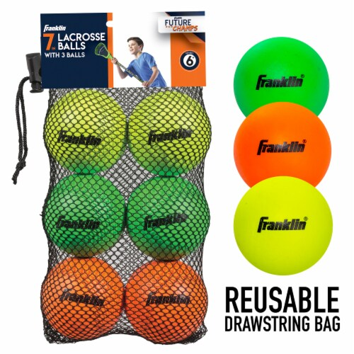 Franklin Youth Lacrosse Balls Perspective: back