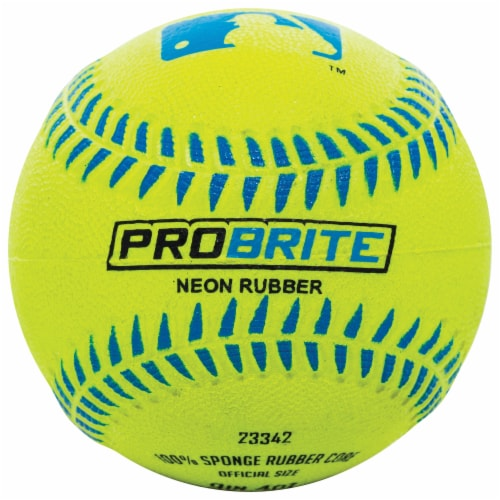 Franklin MLB Neon Rubber Teeball - Assorted Perspective: back