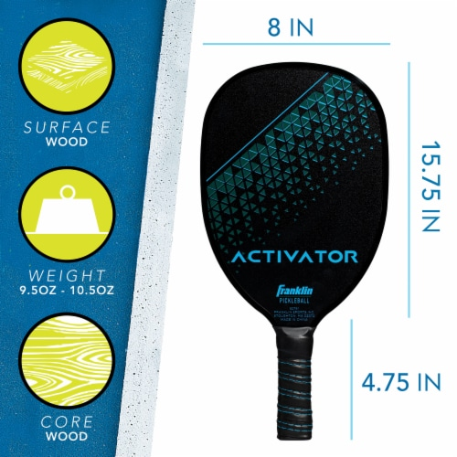 Franklin Activator Pickleball Set Perspective: back
