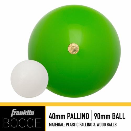 Franklin® Wooden Bocce Set Perspective: back