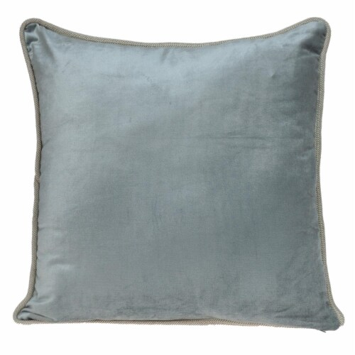 Parkland Collection Maia Transitional Olive Throw Pillow Perspective: back