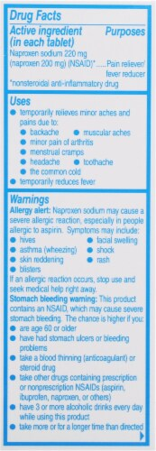 Aleve® Back & Muscle Pain Naproxen Sodium Pain Reliever/Fever Reducer Caplets 220mg Perspective: back