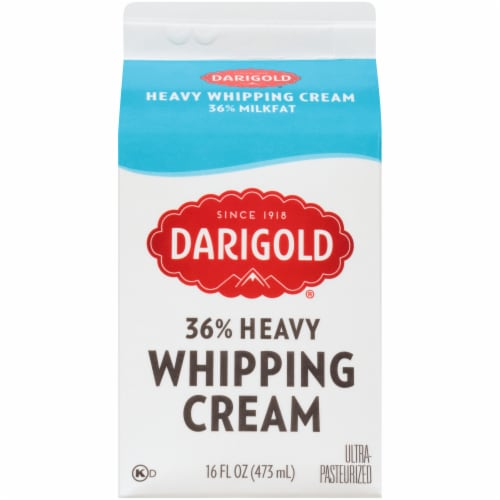 Darigold Classic Heavy Whipping Cream Perspective: back