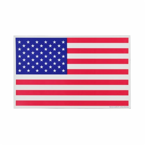 Annin Flagmakers American Flag Magnet Perspective: back