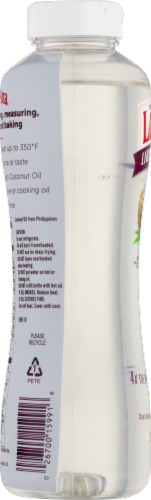 LouAna® Liquid Coconut Oil Perspective: back