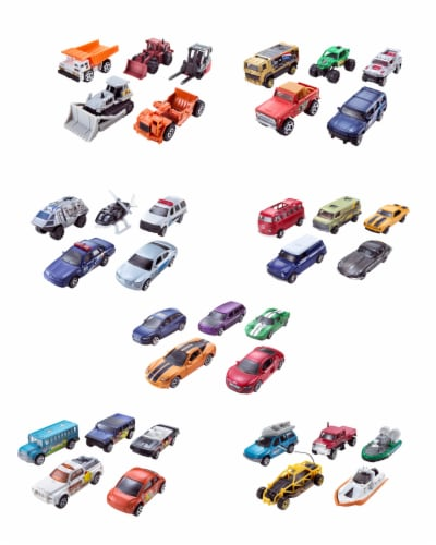 Mattel Matchbox® Open Road-sters Assorted Toy Vehicles Perspective: back
