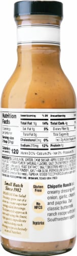 Brianna's Chipotle Ranch Dressing Perspective: back