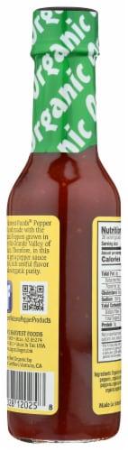 Organic Harvest Habanero Pepper Sauce Perspective: back
