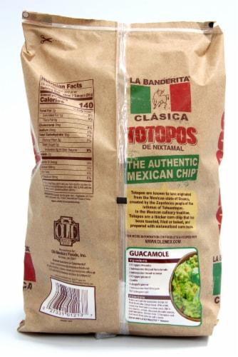 La Banderita Totopos Tortilla Chips Perspective: back