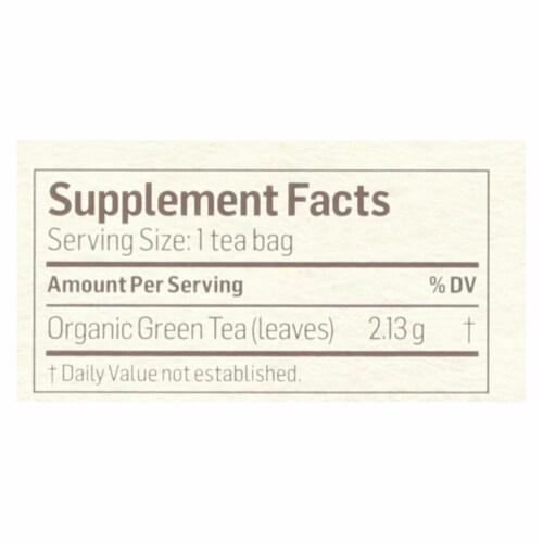 Alvita - Tea Og1 Green - EA of 1-24 BAG Perspective: back