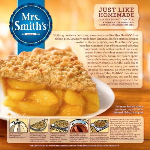 Mrs. Smith's Original Flaky Crust Dutch Apple Pie Perspective: back