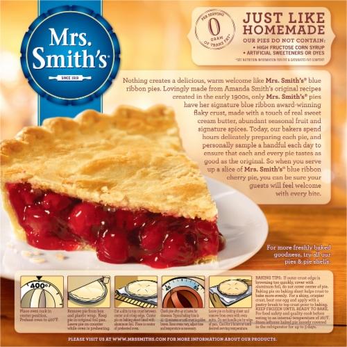 Mrs. Smith's Original Flaky Crust Cherry Pie Perspective: back