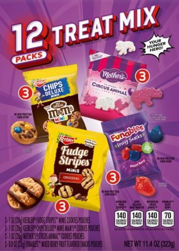 Keebler Variety Treat Packs Perspective: back